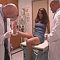 Free Sex Videos 540 :: Hot latina babe gets fucked by 2 doctors