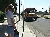 Free Sex Videos 186 :: School girl will never forget this bus ride