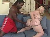 Free Sex Videos 646 :: Chubby white girl with big ass takes a big black cock