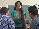 Sex Video 567 :: Dirty teacher sleeps with her students