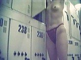 Voyeur Video 79 :: Hidden locker room cam at the local gym
