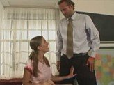 Hot Sex Videos 261 :: Horny school girl was so hot for teacher