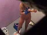 Voyeurism 56 :: Hot blonde teen caught in the dressing room