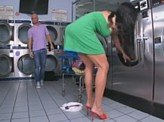 Sex Videos 409 :: Hot Milf at the laundry mat