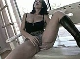 Female Masturbation 48 :: Hot mom gets so horny and wet in this masturbation video