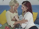 Free Lesbian Video 464 :: Lesbians slowly turn each other on