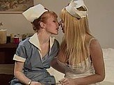 Lesbian Videos 307 :: Lonely nurses find a way to pass the time