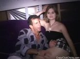 Blow Job Videos 62 :: Lucky guy at club gets blown by cute drunk girl