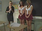 Lesbian Videos 237 :: Naughty school girls are in a lot of trouble
