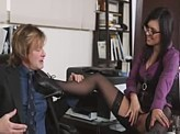 Sex Video 568 :: New secretary knows exactly how to move up the ladder