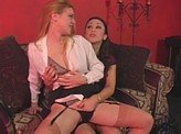 Hot Lesbian Videos 373 :: Office Lesbians keep turning each other on