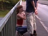 Free Sex Video 304 :: Redhead teen slut fucked me on a bridge in the middle of the day