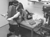 Voyeur 64 :: Security warehouse cam catches worker fucking office lady