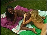 Lesbian Sex Videos 35 :: Sexy black beauty gets eaten out